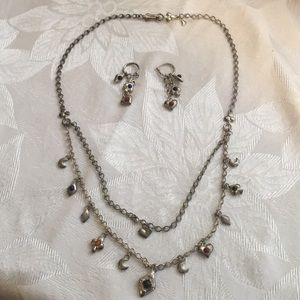 Lucky Charm Necklace & Earring Set